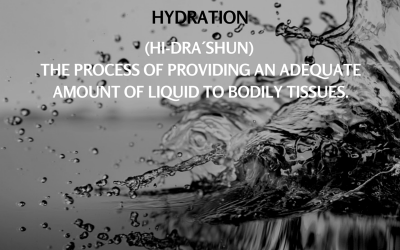Word of the Week – #2 Hydration